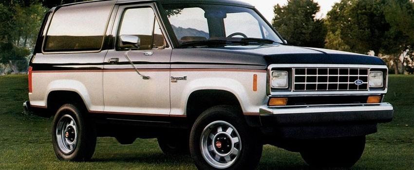 Подогрев сидений Форд Bronco-II