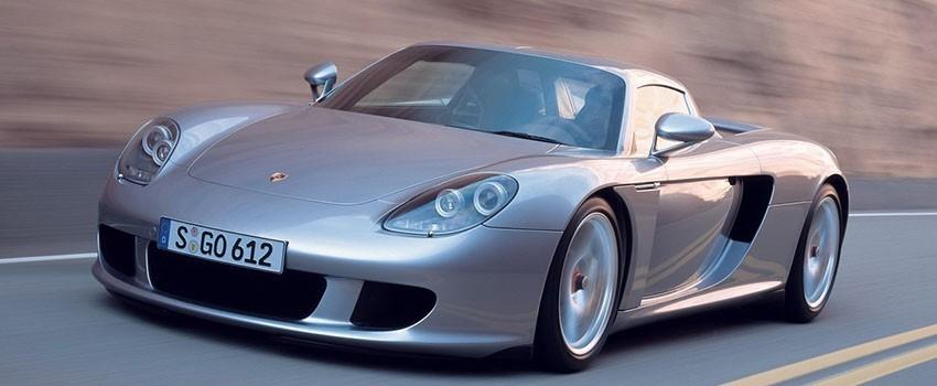 Подогрев сидений Порше Carrera GT