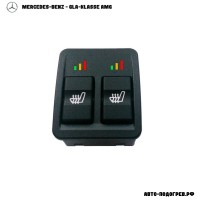Подогрев сидений Мерседес GLA-klasse AMG - с регулятором 3 режима