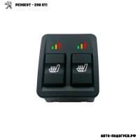 Подогрев сидений Пежо 208 GTi - с регулятором 3 режима
