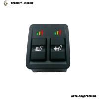Подогрев сидений Рено Clio V6 - с регулятором 3 режима