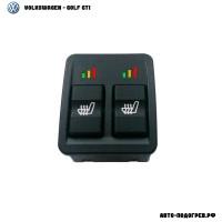 Подогрев сидений Фольксваген Golf GTI - с регулятором 3 режима